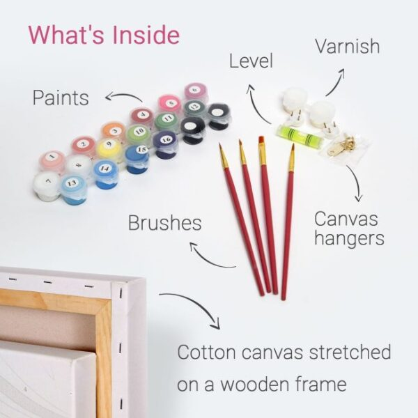Paint By Numbers Canvas Kits