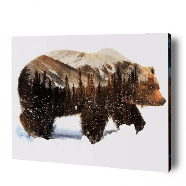 Bear Paint By Number