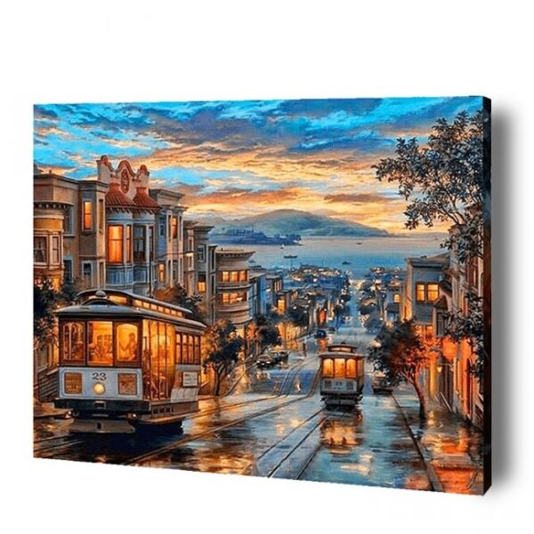 Scenic View Paint By Number