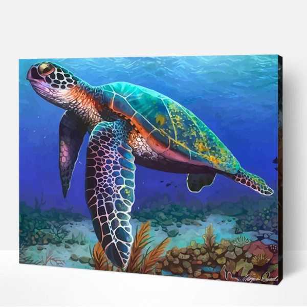 Turtle Paint By Number