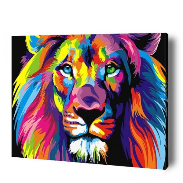 Lion Paint By Number