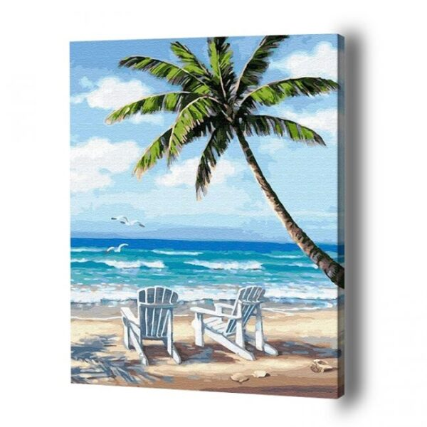 Paradise Beach Paint By Number
