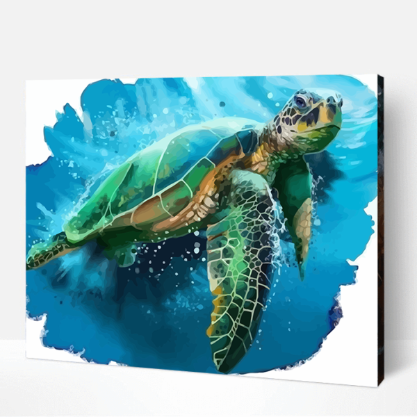 Phil The Turtle Paint By Number