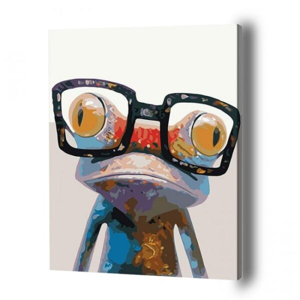 Frog Paint By Number