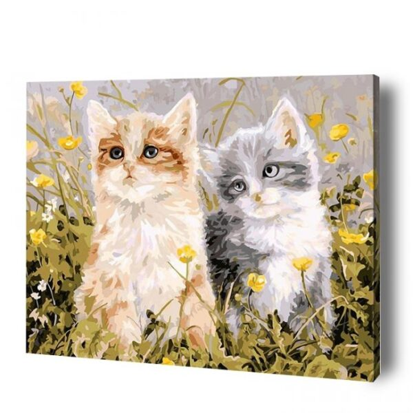 Kitten Paint By Number