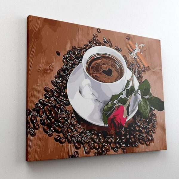 Coffee Paint By Number